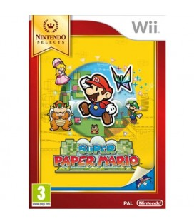 WII SUPER PAPER MARIO SELECTS