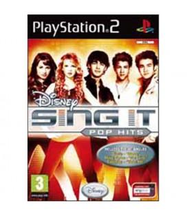 PS2 DISNEY SING IT POP HITS STANDALONE