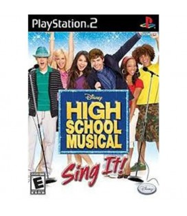 PS2 SING IT HIGH SCHOOL MUSICAL STANDALONE