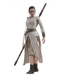 FIGURA HOTTOYS STAR WARS REY 28 CM