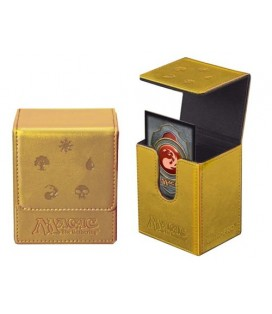 86049 -DECK ULTRA PRO FLIP BOX MANA ED LIM GOLD