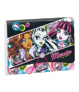 MONSTER HIGH SCARIS - CLASIFICADOR PP.A4.FUELLE 12 DTOS