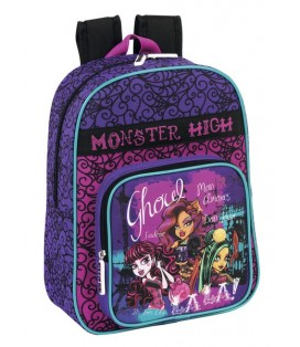 MONSTER HIGH SCARIS - MOCHILA INFANTIL ADAPTABLE A CARRO