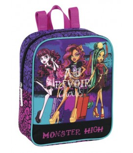 MONSTER HIGH SCARIS - MOCHILA GUARDERIA ADAPTABLE A CARRO