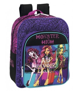 MONSTER HIGH SCARIS - MOCHILA JUNIOR ADAPTABLE A CARRO