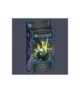 NETRUNNER LCG FIRST CONTACT DATA* INGLES *