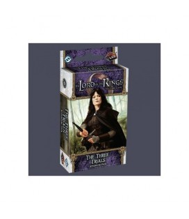LORD OF THE RINGS LCG THREE TRIALS * INGLES *