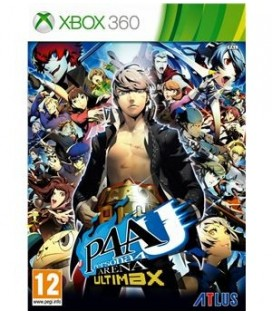 360 PERSONA 4 ARENA ULTIMAX