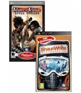 PSP SHAUNWHITE + PRINCE OF PERSIA RIVAL SWORDS
