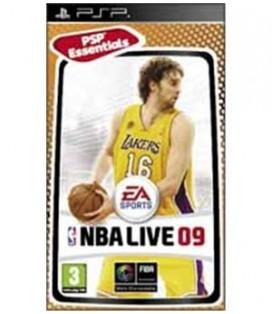 PSP NBA LIVE 09 ESSENTIALS