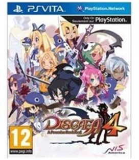 PSV DISGAEA 4: A PROMISE REVISITED