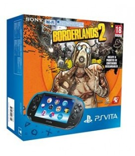 CON PSV SLIM + BORDERLANDS 2 + 4GB