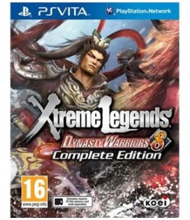 PSV DYNASTY WARRIORS 8 COMPLETE EDITION