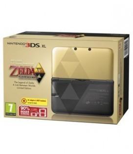 CON 3DS XL ZELDA ED. ESPECIAL + ZELDA A LINK BETWEEN WORLDS