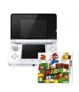 CON 3DS BLANCA + SUPER MARIO 3D LAND