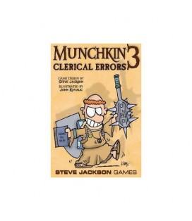 MUNCHKIN 3 CLERICAL ERRORS *INGLES*