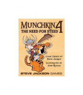 MUNCHKIN 4 THE NEED FOR STEED *INGLES*