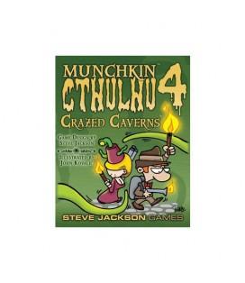 MUNCHKIN CTHULHU 4 CRAZY CAVERNS *INGLES*