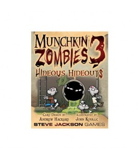 MUNCHKIN ZOMBIES 3 HIDEOUS HIDEOUTS *INGLES*
