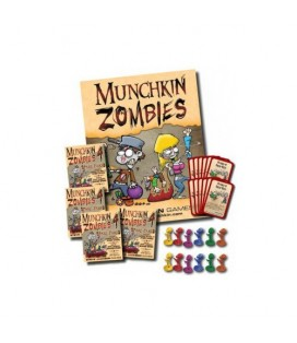 MUNCHKIN ZOMBIES 4 LAUNCH KIT *INGLES*