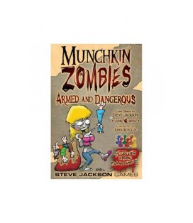 MUNCHKIN ZOMBIES ARMED AND DANGEROUS *INGLES*