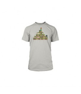 CAMISETA MINECRAFT HILLTOP BY CAPY M