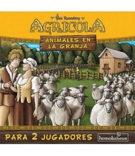 AGRICOLA ANIMALES EN LA GRANJA 2 JUGADORES