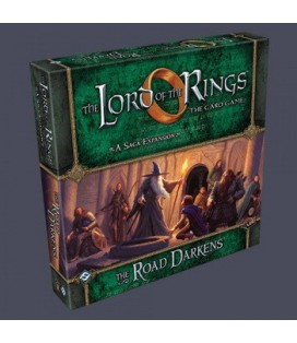 LORD OF THE RINGS LCG THE ROAD DARKENS * INGLES *