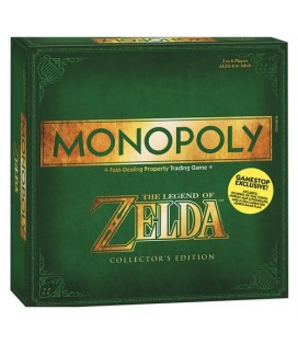 MONOPOLY LEGEND OF ZELDA *INGLES*