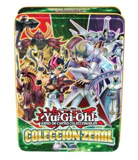 YU-GI-OH! JCC LATAS ZEXAL (6 unid.)