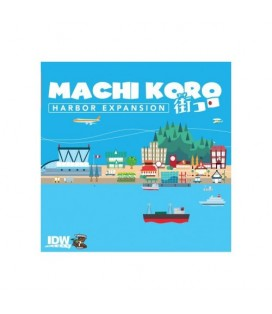 MACHI KORO EXPANSION HARBOR ** INGLES**