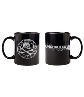 TAZA UNCHARTED 4 PIRATE COIN