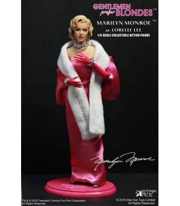 FIGURA MARILYN MONROE STAR ACE PINK DRESS 30 CM