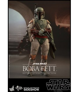 FIGURA HOTTOYS STAR WARS BOBA FETT 30 CM