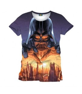 CAMISETA STAR WARS - VADER AMENAZA FULL PRINT S