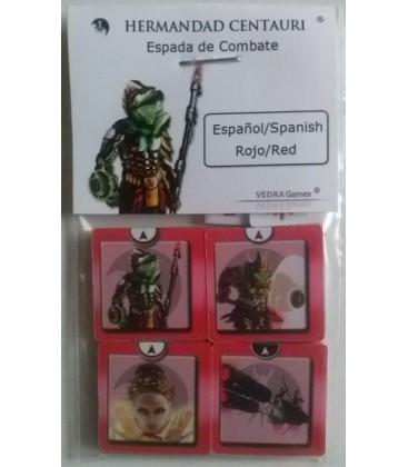 CSW: ESPADA DE COMBATE CENTAURI ROJO