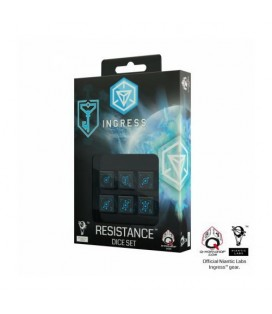 QW SET DADOS SEIS CARAS INGRESS: RESISTENCIA (6)
