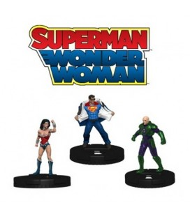 MARVEL HEROCLIX: WONDER WOMAN & SUPERMAN