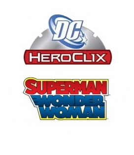 MARVEL HEROCLIX: WONDER WOMAN SET TOKENS + DADOS
