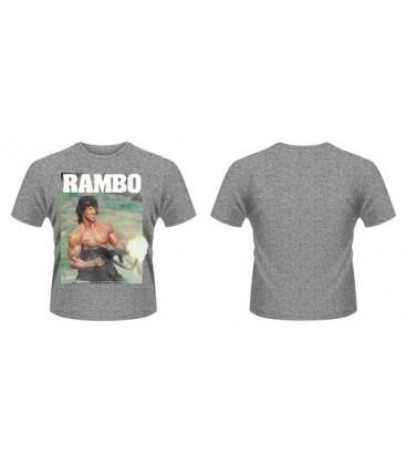 CAMISETA RAMBO GUN M