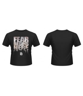 CAMISETA FEAR BEGINS HERE XXL