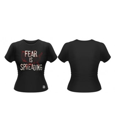 CAMISETA FEAR IS SPREADING MAP MODELO 2 M