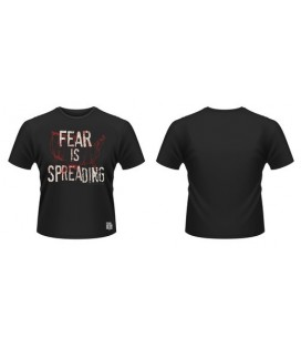 CAMISETA FEAR IS SPREADING MAP S