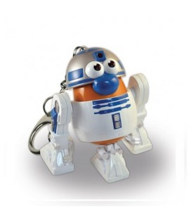 LLAVERO MR POTATO STAR WARS: R2D2 5 CM