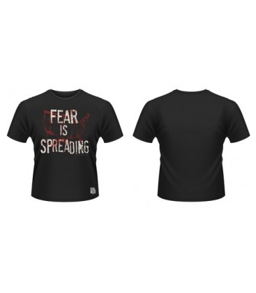 CAMISETA FEAR IS SPREADING MAP L
