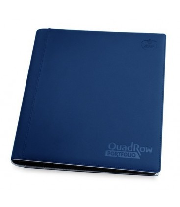 ULTIMATE GUARD 12-POCKET QUADROW PORTFOLIO AZUL MA