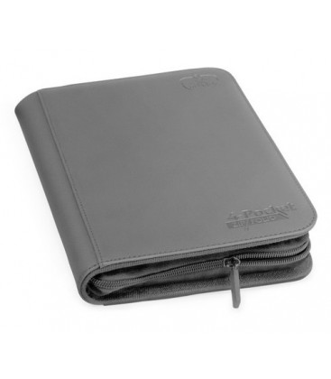 ULTIMATE GUARD 4-POCKET ZIPFOLIO XENOSKIN GRIS