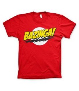 CAMISETA BIG BANG THEORY BAZINGA XL
