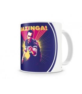 TAZA BIG BANG THEORY SHELDON SAYS BAZINGA