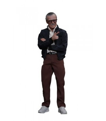 FIGURA HOTTOYS STAN LEE 30 CMS